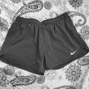 Nike running shorts,  lined